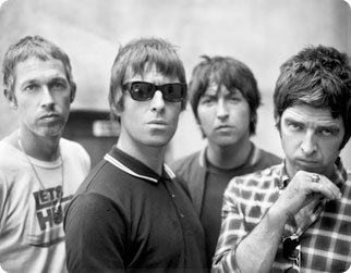 Oasis bandfoto