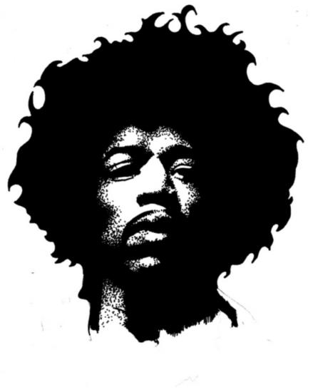 Jimi Hendrix - Av Danny PiG